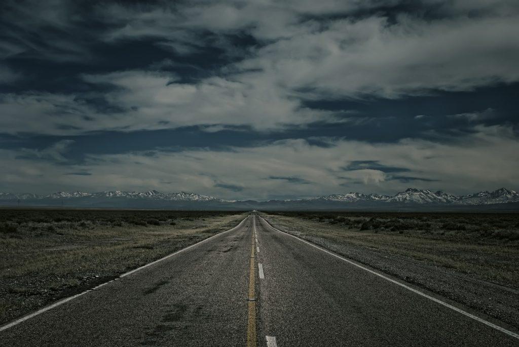 Route en Argentine