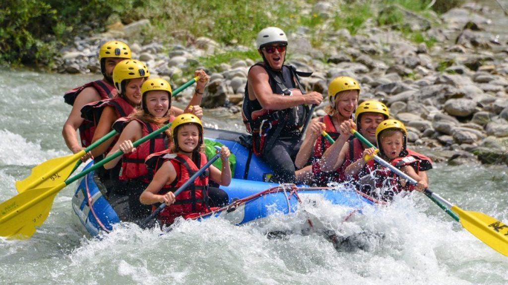 Rafting en famille dans le Verdon
