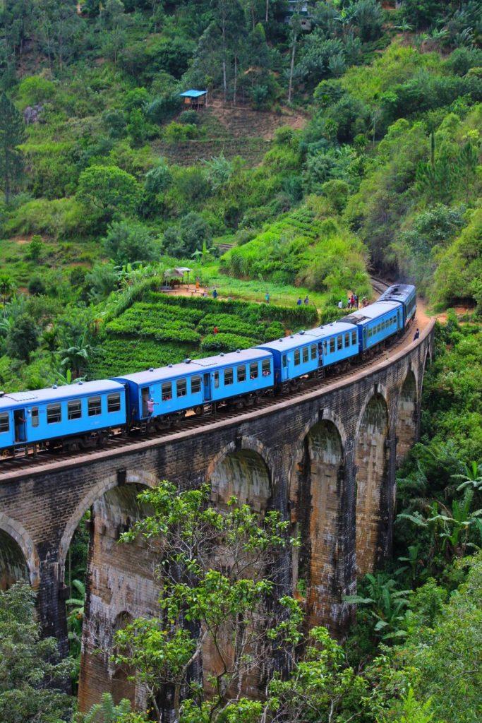 Train vers Kandy
