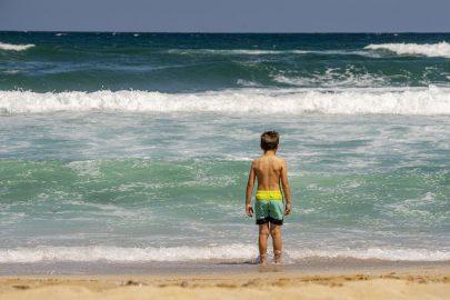 Vacances en famille au bord de la mer